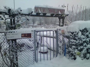 Winters entree van VTV Briljant